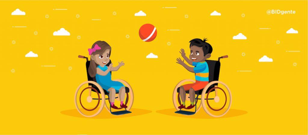 discapacidad BID niños