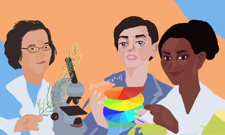 Dedicación por el descubrimiento: siete mujeres científicas que formaron el mundo